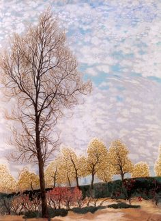 Léon Spilliaert (Belgian, 1881-1946). Trees.