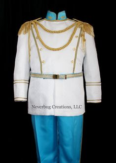 Cinderella Prince Costume (1100.00 USD) by NeverbugCreations