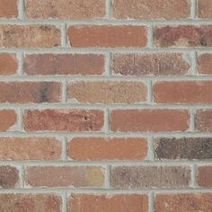 Old Mill Thin Brick Systems 7.3-sq ft Box Smooth Dixie Clay Brick Veneer