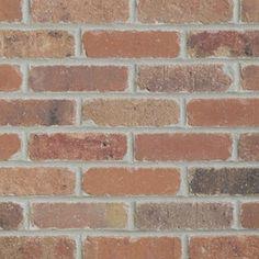 Old Mill Thin Brick Systems 7.3-sq ft Box Smooth Dixie Clay Brick Veneer