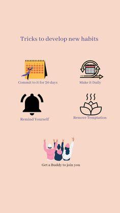 Emotional Development, Self Development, Personal Development, How To Develop Confidence, Self Care Bullet Journal, Inspirational Articles, Self Love Affirmations, Good Habits, Affirmation Quotes