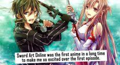 Sword Art Online è stato il primo anime dopo tanto tempo a rendermi così eccitata sin dal primo episodio. / It would be EPIC, but they ruined it all at half series!