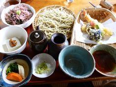 "Pranzo, ""Kouya""(Soba-Osteria), Inatori-Onsen(Terme), Izu Shizuoka Japan (Febbraio)"