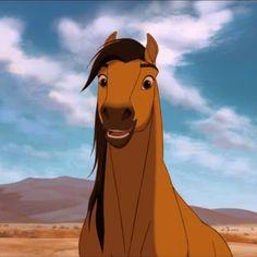 Spirit Horse Movie, Spirit The Horse, Spirit And Rain, E Spirit, Disney Cartoon Characters, Cartoon Icons, Disney Cartoons, Cartoon Drawings, Animal Drawings