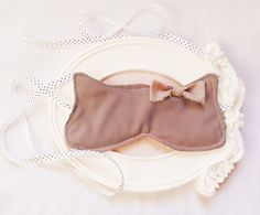 Boudoir Cat sleep mask eyes relaxation gift for by Venicaria, $28.00