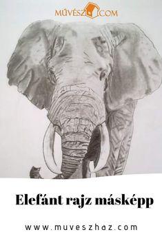 Elefánt rajz másképp- hányféleképpen lehet? Kattinst és olvasd el. Animals, Animales, Animaux, Animal, Animais