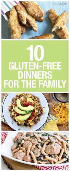 Healthy, gluten-free dinners your entire family will enjoy!