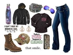 """Happy Happy Happy, I Wish Jason Would Like Me"" by im-a-jeans-and-boots-kinda-girl on Polyvore featuring S'well, Carolina, Bullet, Forzieri, LifeProof and Realtree"