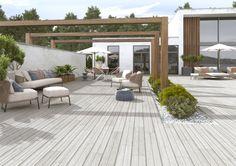 Carrelage sol extérieur grès cérame Imagine Deck gris - 16x99 cm - CINCA - Décoration extérieure - Distributeur de matériaux de construction - Point.P