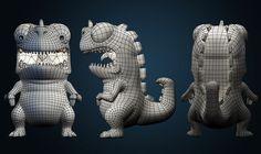 Dino Cartoon on Behance
