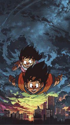 Goku And Gohan, Goku Wallpaper, Dragon Ball Image, Japon Illustration, Animes Wallpapers, Decent Wallpapers, Z Arts, Anime Naruto, Pokemon Firered
