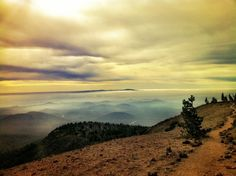 Top of Mt Tumalo