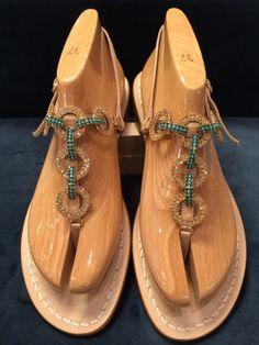 Via Capri, 34 is a luxury line of custom handmade sandals from Capri. Via Capri, 34 is located in Palm Beach on Worth Avenue. Flat Sandals, Shoes Sandals, Different Styles, Peep Toe, Capri, High Heels, Army, Sparkle, Pasta