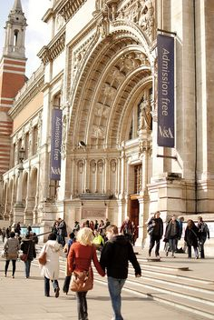 V & A Museum London - whenever I went on a day-trip from Brighton to London, I'd visit a museum in the morning and maybe watch a football match in the afternoon or evening (Arsenal or Chelsea normally but also supported Brighton at Crystal Palace's ground on several occasions)