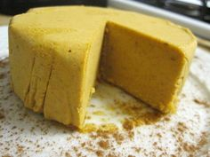 Raw Pumpkin Cheesecake #TheDetoxinista