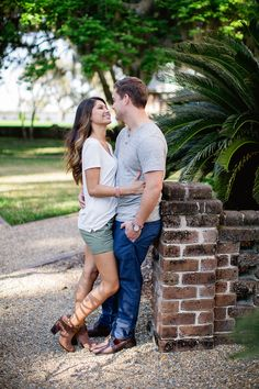 We love her booties! See more on Savannah Soiree. http://www.savannahsoiree.com/journal/engagement-session-at-the-ford-plantation