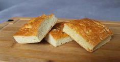 Low Carb chléb Focaccia - LCHF & Keto dieta Lchf, Keto, Cornbread, Low Carb, Gluten, Ethnic Recipes, Food, Millet Bread, Eten