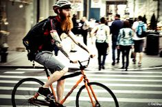 Red Beard Red Bike