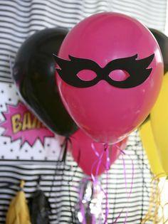 BAM! Girl Superhero Birthday Party Ideas | Photo 2 of 42 | Catch My Party