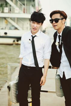 Show Luo and Zhang Yixing