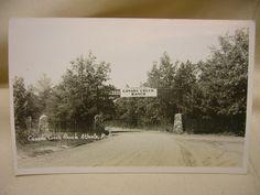 Vintage Postcard of Canada Creek Ranch Atlanta, Michigan Landscape Real Photo