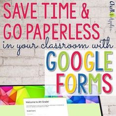 Work smarter not harder this year by collecting #backtoschool info on Google Forms! On the blog - #linkinprofile