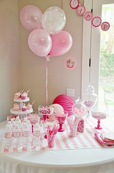 Ballerina Birthday Party Ballerina birthday parties Ballerina