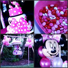 Baby Minnie Mouse 1st Birthday | Twins First Birthday Minnie And Mickey Mouse