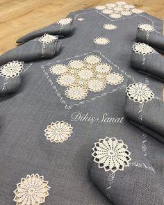 Crochet Mandala Pattern, Crochet Doilies, Crochet Patterns, Crewel Embroidery, Hand Embroidery Designs, Crochet Needles, Crochet Stitches, Crochet Home, Crochet Crafts