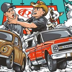 Want to get your Photo or Video from Summernats shared on our Social Media? Simple #Summernats Farmtruck & Azn are heading to Summernats 30 January 5-8 2017! Who wants this on a t-shirt? @fna405 #farmageddon #fna #summernats30 #405 #downunder #summernats #australia #burnout #koala #dropbearspray #farmtruckandazn #streetoutlaws The Summernats Instagram is a cool place to check out all the goodness from the Summernats Car Festival. @summernatscarfestivalaustralia