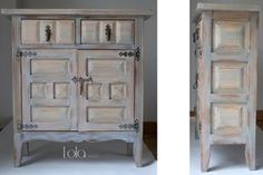 lg_20140219_mueble_taquillon_03-09 Chalk Paint Projects, Home Decor Pictures, China Cabinet, Painted Furniture, Furniture Ideas, Wood Crafts, Tall Cabinet Storage, Ikea, Vintage
