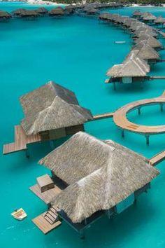 Four Seasons Resort, Bora Bora, Tahiti