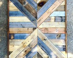 Wood Art Mountains Rustic Wall Art Reclaimed Wood Industrial