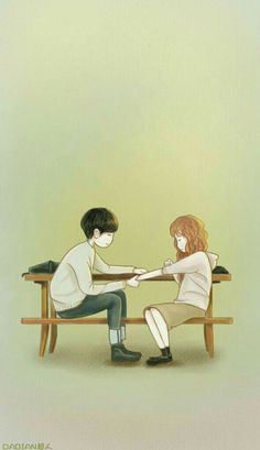 Cheese um the trap Cute Couple Drawings, Cute Couple Cartoon, Cute Couple Art, Cute Love Cartoons, Anime Love Couple, Cute Drawings, Cute Love Wallpapers, Cute Couple Wallpaper, K Wallpaper