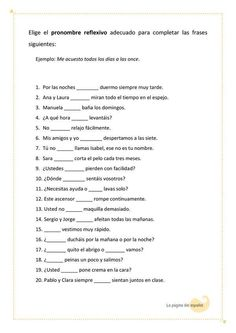 Teach Me Spanish, Spanish Lessons For Kids, Spanish Lesson Plans, Spanish Grammar, Learn English Grammar, Spanish Language Learning, Spanish Teacher, Spanish Classroom, Spanish Worksheets
