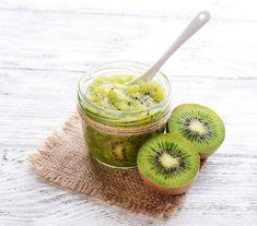 Confettura di kiwi allo zenzero Kiwi, Dolce, Fett, Ethnic Recipes, Blame, Deserts