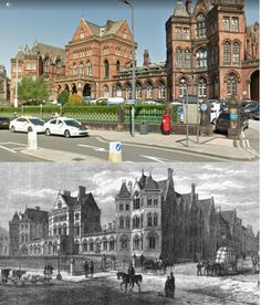St George's entrance of The Leeds General Infirmary. 2016 and Leeds City, St George's, West Yorkshire, Saint George, Town Hall, British History, Hospitals, Days Out, Old Pictures