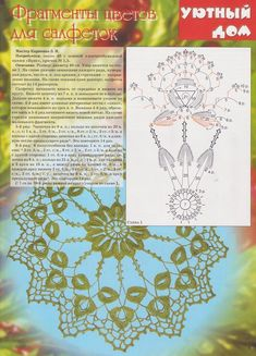Журнал: Вяжем крючком.Уютный дом №3 2009 - Вяжем сети - ТВОРЧЕСТВО РУК - Каталог статей - ЛИНИИ ЖИЗНИ Lacemaking, Crochet Home, Crochet Doilies, Ideas, Bath Linens, Cross Stitch Embroidery, Crochet Bags, Lace, Know It All