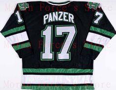 1997-98 #17 Jeff Panzer University of North Dakota Game Worn Jersey Alternate Free Shiping XXS-6XL