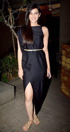 Kriti Sanon at Manish Malhotra's birthday bash. #Bollywood #Fashion #Style #Beauty