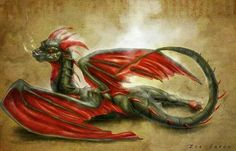 # RED WINGED DRAGON