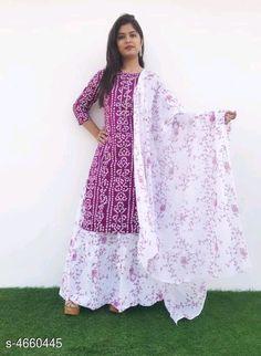 Kurti set : Rayon ₹720/- free COD WhatsApp +919730930485 Kurti Designs Party Wear, Kurta Designs, Indian Designer Outfits, Designer Dresses, Classy Suits, Nice Suits, Indian Kurta, Pakistani, Patiala Dress