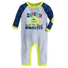 Mike Wazowski Stretchie Sleeper for Baby | Disney Store