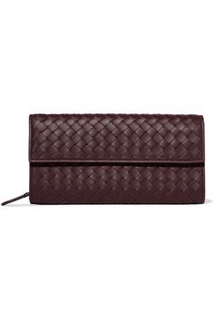 e1e201b1f234e Bottega Veneta - Intrecciato leather continental wallet