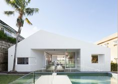 Hollowed-out house in Sydney by Tribe Studio