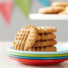 The perfect peanut butter cookies start with Jif. Try our five-star recipe for Irresistible Peanut Butter Cookies. They are sure to win you top prize at the Bake Sale!