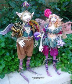 FINEUS TUTORIAL  Elf  Height 16 41 cm Workshop Cloth