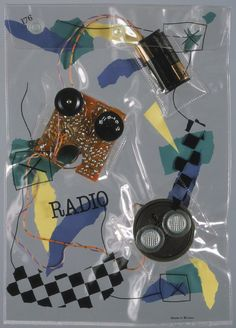 "Very cool ""Radio Bag"" by Daniel Weil,1981."