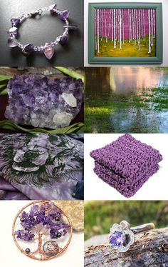 Timeless Amethyst by Julia on Etsy--Pinned with TreasuryPin.com