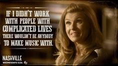 Complicated lives make the best music! #Nashville